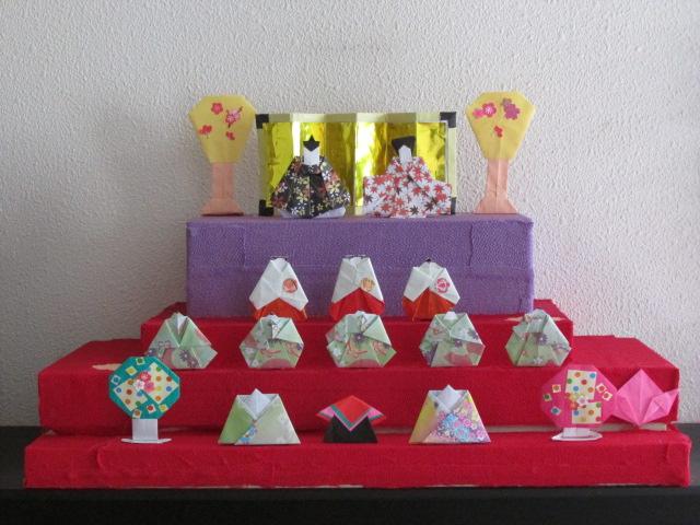 ハート 折り紙 : 折り紙 ぼんぼり : esao-aoyama.cocolog-nifty.com