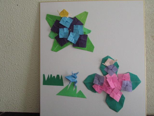 花 折り紙:夏の花 折り紙-esao-aoyama.cocolog-nifty.com